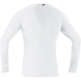 GORE RUNNING WEAR Essential Base Layer Miehet Alusvaate , valkoinen
